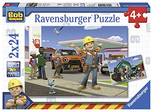 Ravensburger Bob the Builder: Yo, We Can Do This Jigsaw Puzzle (2 x 24 Piece)