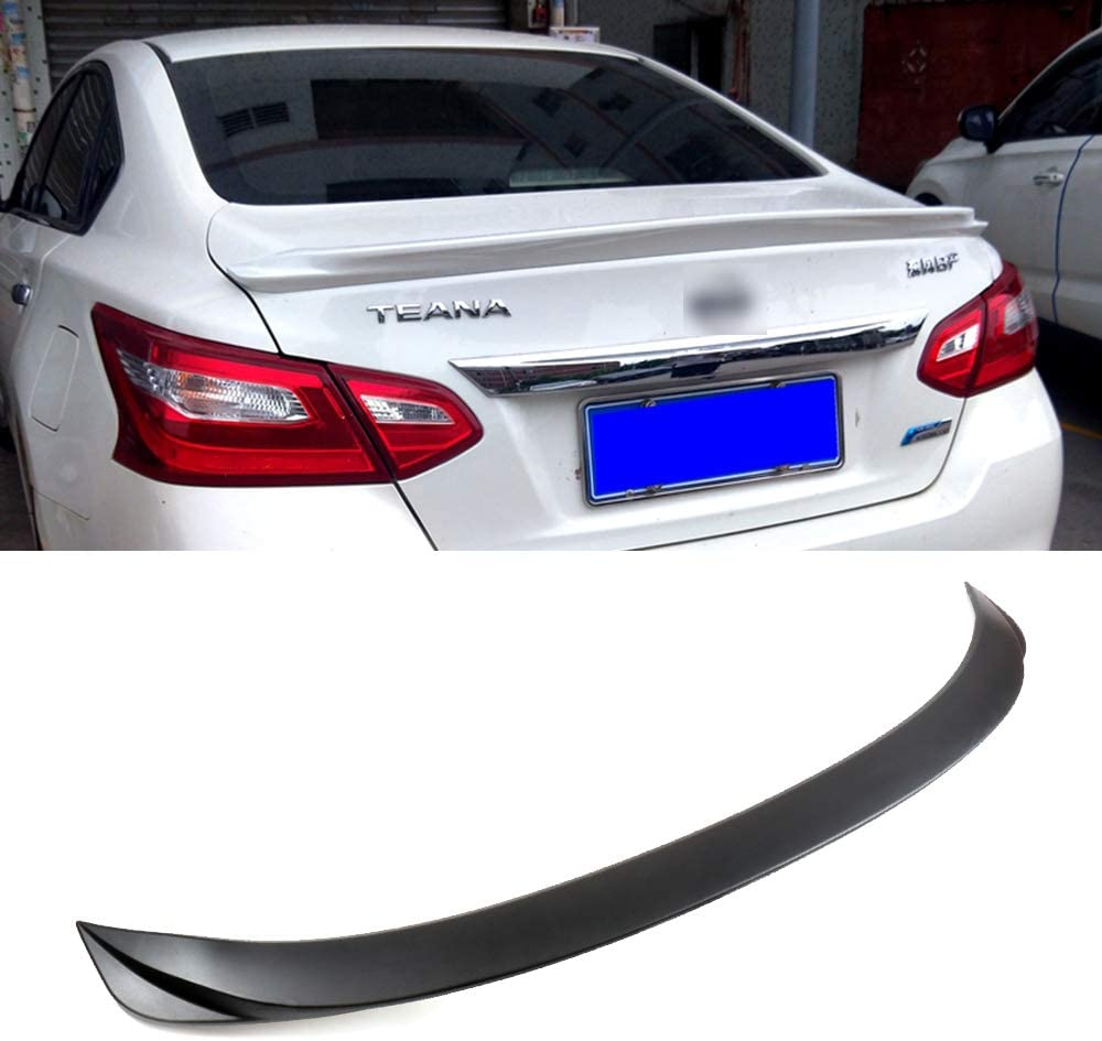 cciyu Black ABS Rear Spoiler Wing Replacement fit for 2016 2017 ...