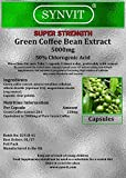 Green Coffee Extract x 180 - SUPER Strength 5000mg - 50% Chlorogenic Acid - Synvit by Synvit