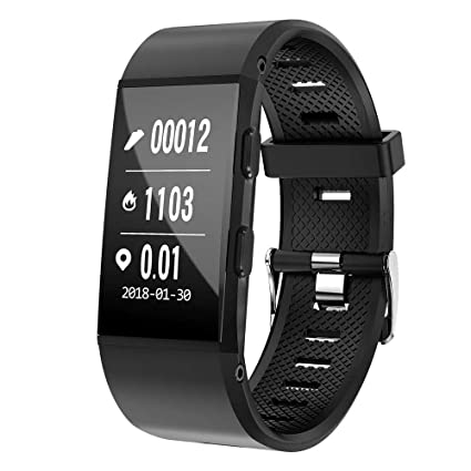 Amazon.com: Docooler S1 Smart Watch Bracelet BT4.1 GPS Heart ...