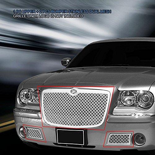 (Fedar Dual Weave Mesh Grille for 2005-2010 Chrysler 300/300C)