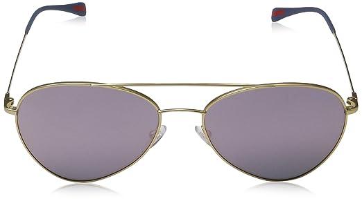 SPORT Mens 0PS50SS 1BK5T0 Sunglasses, Matte Gold/Darkgreymirrorpink, 60 Prada