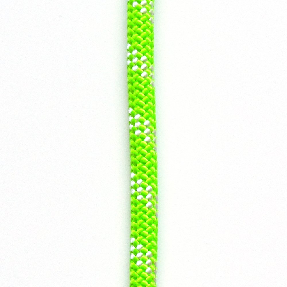 OPG ATAR static kernmantle rescue rappelling rope 11mm x 200 feet high visibility Lime Green UL ANSI NFPA USA