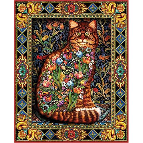 Large 5D Diamond Painting Kits for Adults 20x16 Full Diamond Animal Cat Dog by TOCARE