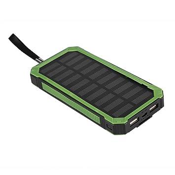 Cargador Solar 25000mAh, Banco Inalámbrico Portátil de ...