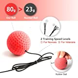 Gdaytao Boxing Reflex Ball, Boxing Equipment with