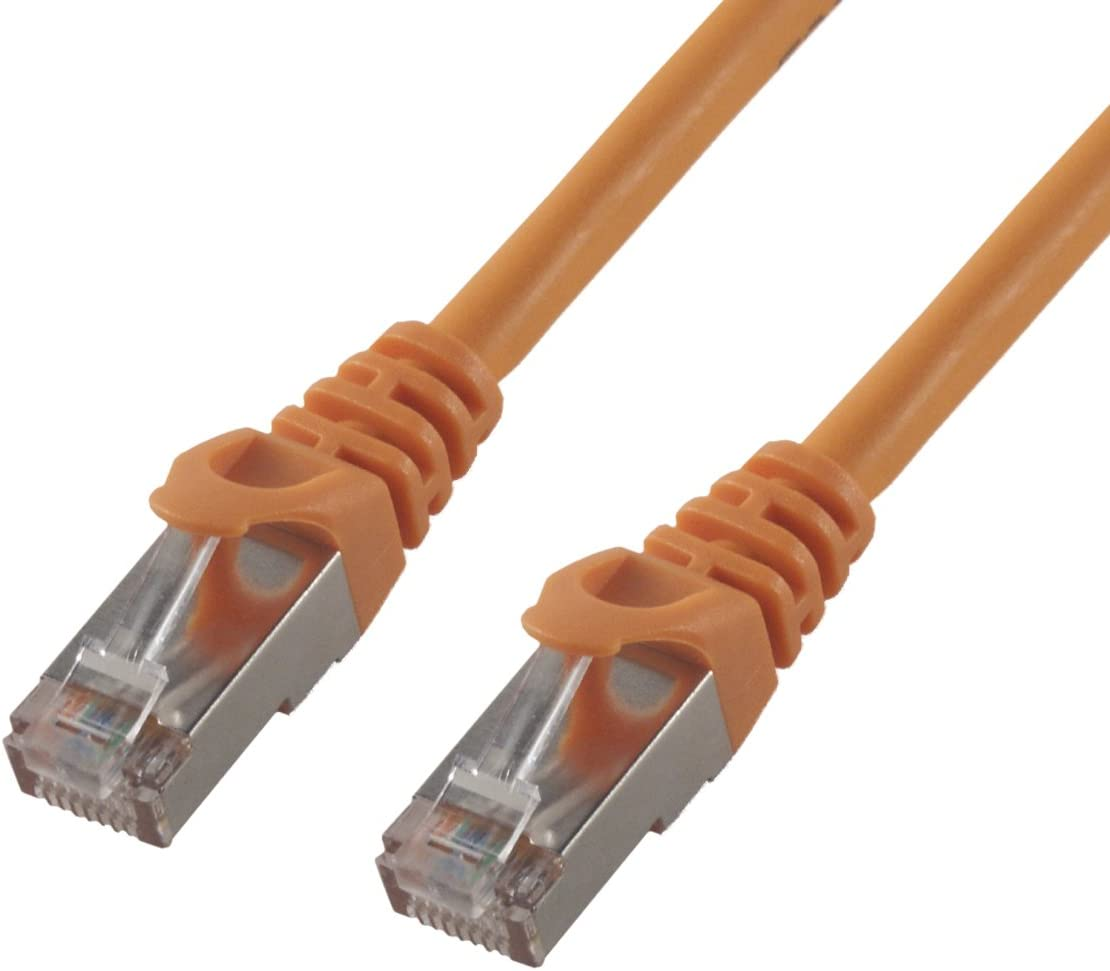 Orange MCL 10m CAT 6 F//UTP Patch Cable