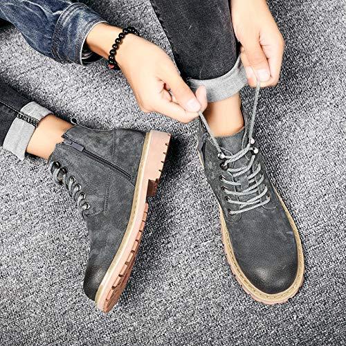 Shukun Herren Stiefel Martin Stiefel Men's High Stiefel, Wild Casual Stiefel, Stiefel, Casual Wild Schuhes, Men's Stiefel 2ef89c