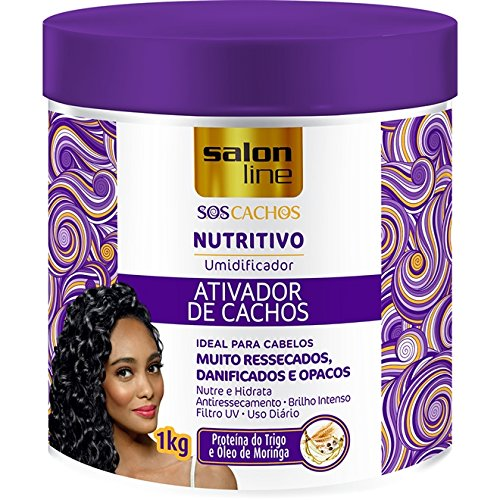 (Salon Line - Linha Tratamento (SOS Cachos) - Ativador De Cachos Nutritivo 1000 Gr - (Salon Line - Treatment (SOS Curls) Collection - Nourishing Curl Activator Net 35.27 Oz))