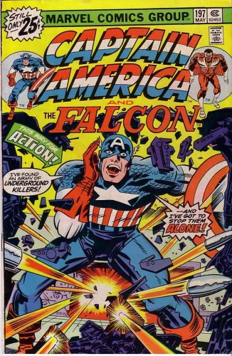 Captain America and the Falcon (Comic) May 1976 No. 197 (1)
