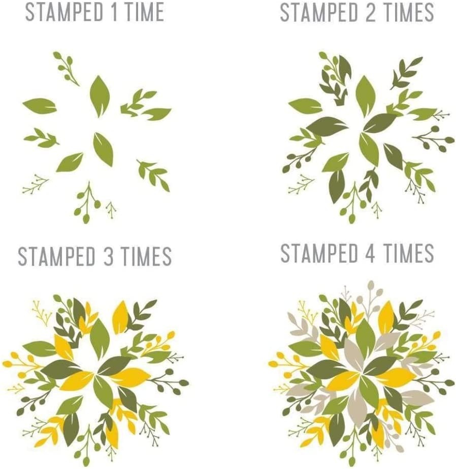 Concord /& 9th Clear Stamps 4X8-Wreath Turnabout