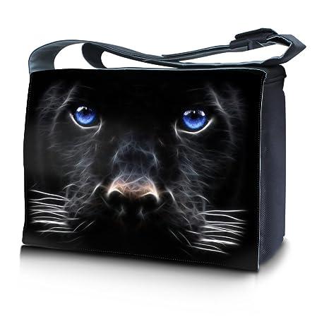 Luxburg® Design bolso bandolera de mensajero, de escuela bolso para portátil ordenadores Laptop Notebook