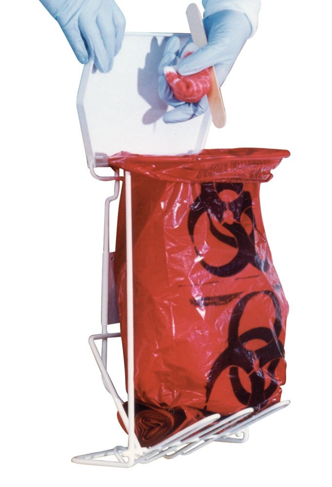 Bio-medical Waste Disposal Rack, 3 Gallon Rack