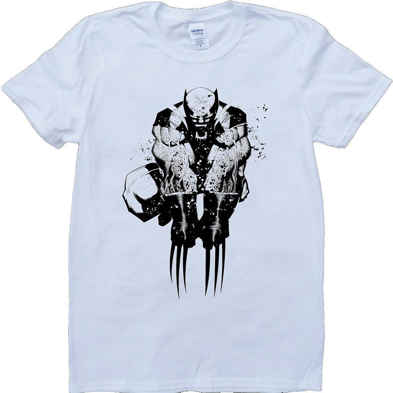Wolverine Short Sleeve Crew Neck Custom Made T-Shirt