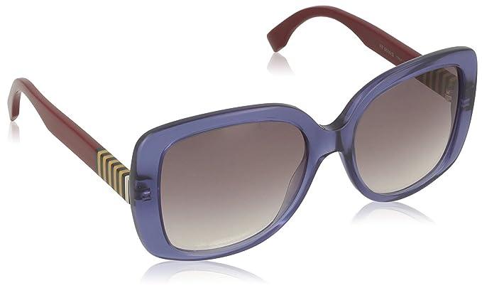 53b439ede50 Fendi Women s Sunglasses Blue blue  Amazon.co.uk  Clothing