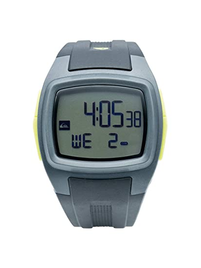 Quiksilver M159DR 93T - Reloj digital de caballero de cuarzo con correa de plástico verde (
