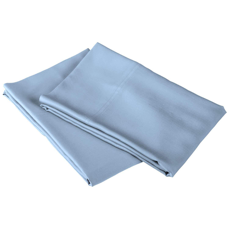 20x60 2 Piece Pillow Case 100/% Cotton Long Staple 400-TC Animal Print Zebra Body Size