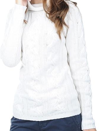 buy online 3a725 7c955 Balldiri 100% Cashmere Damen Pullover Rollkragen Zopfmuster ...