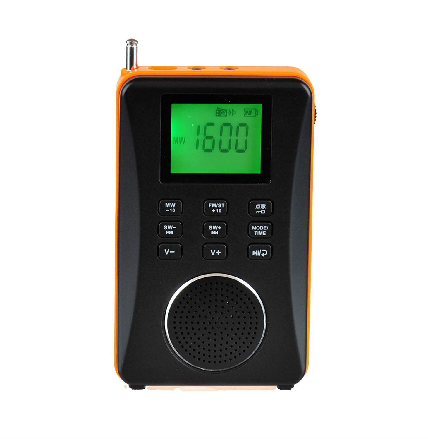 FridCy 3-in-1 Rechargeable AM/FM Shortwave Radio, Portable Speaker & MP3 Player with Built-in Micro SD/TF Card Reader Outdoor Portable Radio by FridCy