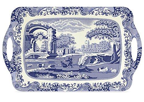 Spode Blue Italian Large Melamine Handled ()