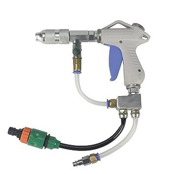 Arandela de presión de aire pistola, una pistola de agua funciona con compresor de aire sin necesidad de arandela: Amazon.es: Coche y moto