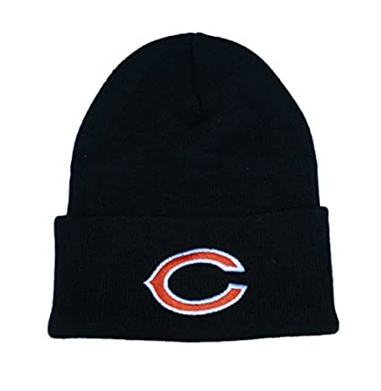 premium selection 656cb a9cf7 ... denmark chicago bears knit beanie hat cap black 255e5 48039