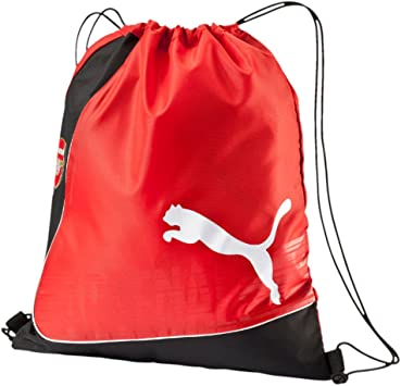 Amazon.com | Puma Arsenal Drawstring Bag (Red/Black ...