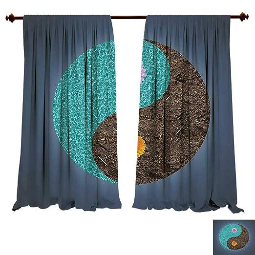 Cortina opaca térmica aislante circular Icono para yoga ...