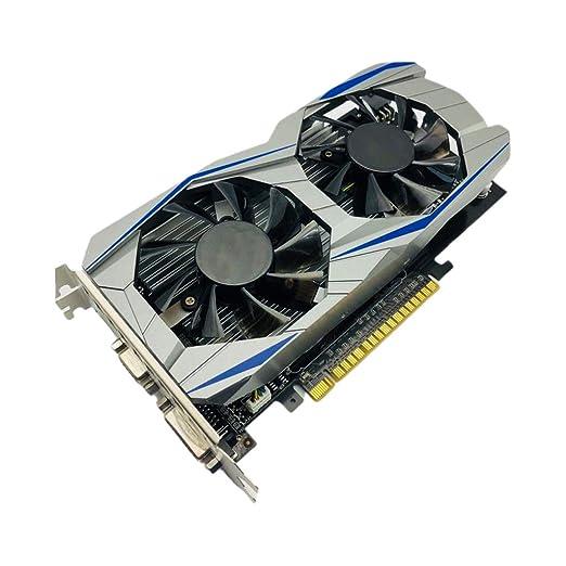 YUYUE21 GTX1050Ti Tarjeta gráfica 4G DDR5 128bit PCI Express ...