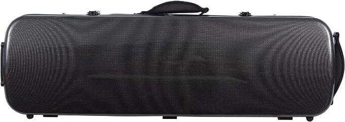 Estuche para violín fibra Oblong 4/4 carbon - navy blue M-Case: Amazon.es: Instrumentos musicales