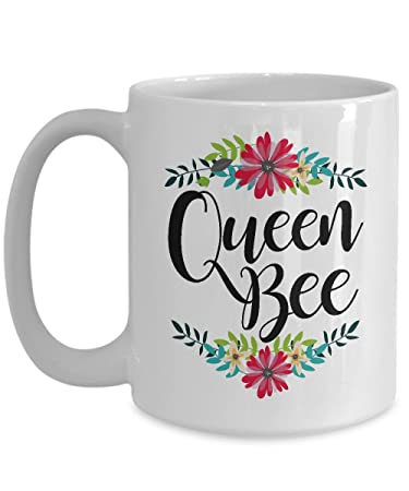 Amazon Queen Bee Coffee Mug Great Mother s Day Gifts Pretty