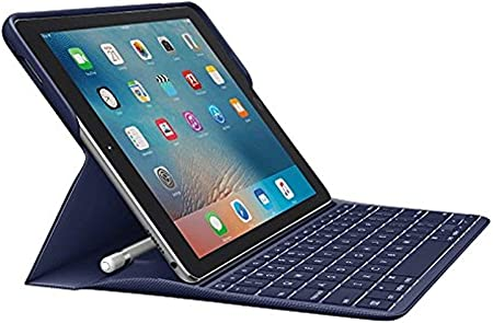 Amazon Com Logitech Create Backlit Wireless Keyboard With Smart Connector For Ipad Pro 9 7 Inch Blue Will Not Fit Other Models Or Other Sizes Only Fits Ipad Pro 9 7 Inch Computers Accessories