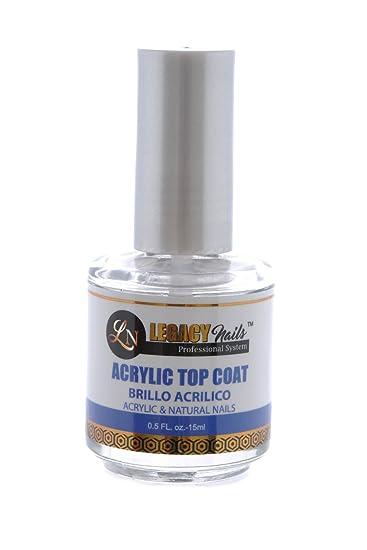 Amazon.com: Legacy Nails Acrylic Top Coat: Beauty