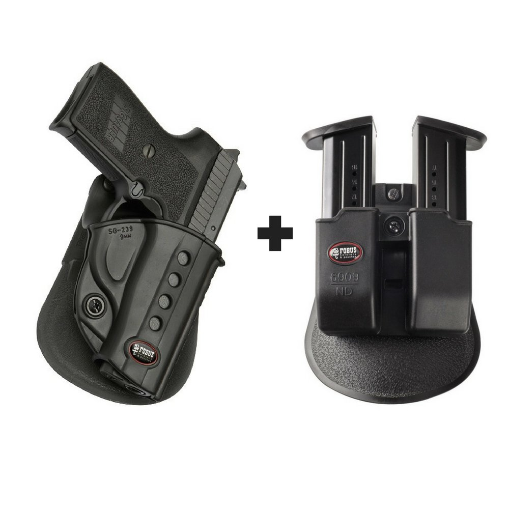 Amazon com : Fobus SG-239 Paddle Black Concealed Carry