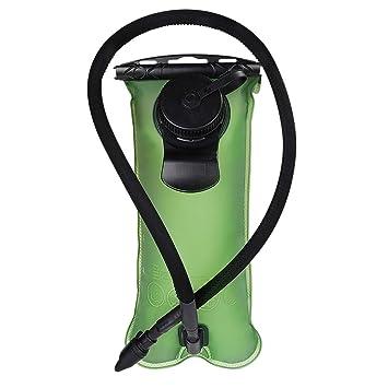 DEKINMAX Bolsa de Agua Portátil para Mochila de Senderismo Campamento Ciclismo: Amazon.es: Deportes y aire libre