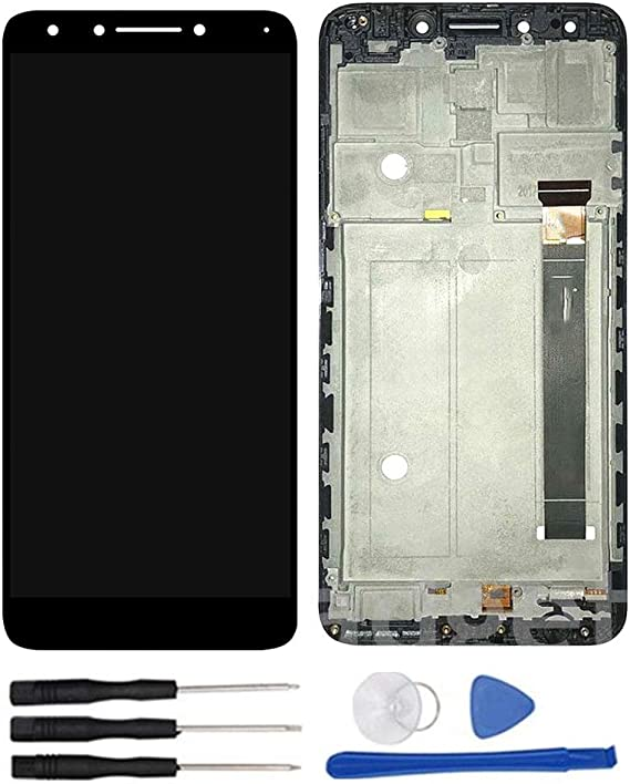 For Alcatel 7 6062 6062W Revvl 2 Plus Frame LCD Touch Screen Display Replacement