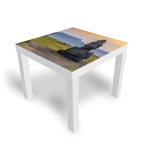 Tavolini Ikea Da Salotto.Dekoglas Tavolo Decorativo In Vetro Ikea Laccato Tavolino
