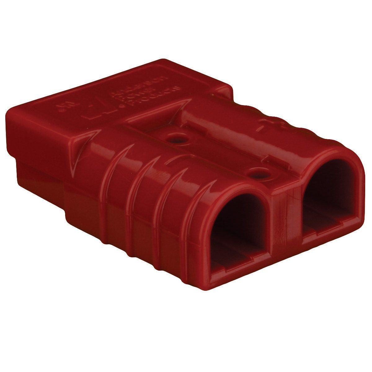 Install Bay SB50 Large Gauge Anderson Connectors 8 Gauge Red, Each Metra Electronics Corporation