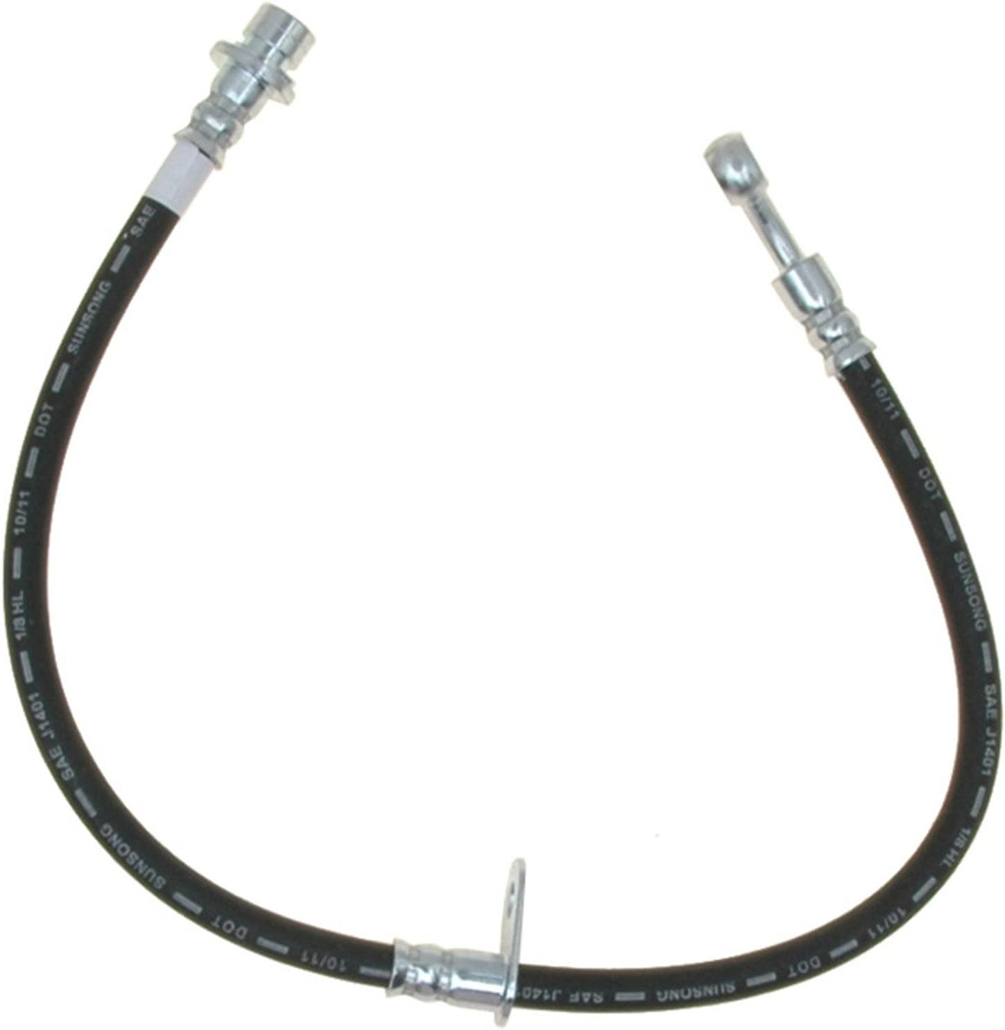ACDelco 18J4021 Professional Front Driver Side Hydraulic Brake Hose Assembly