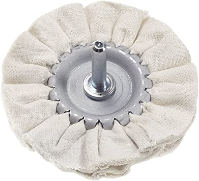 Xtools - Rueda de algodón de 80 mm de diámetro para pulir metal ...