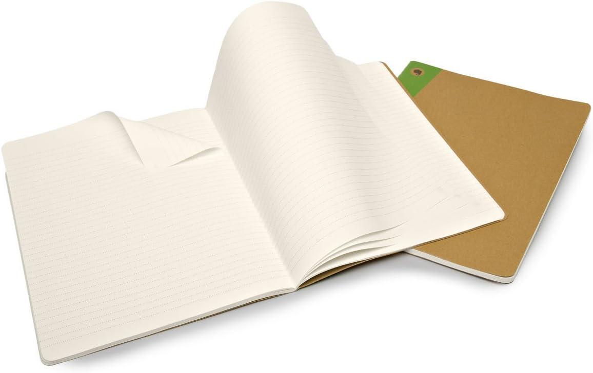 Squared Set of 2 Large Moleskine Evernote Smart Journal