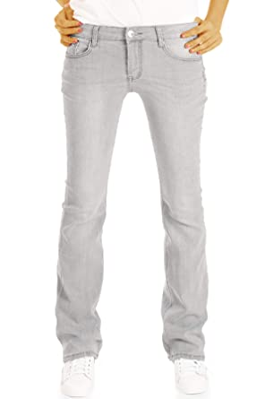 9584f09e5b66 bestyledberlin Stretch Regular Bootcut Jeans Hose gerade Beinform j16m