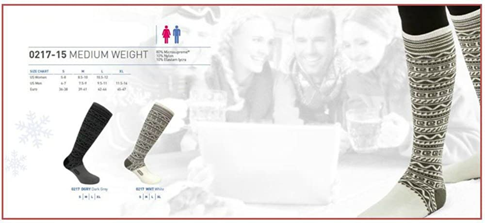 Eurosock Lifestyle Medium Weight OTC Socks Checkered
