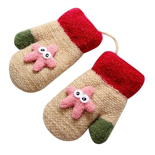 1405c2666 Moonper Toddler Gloves Baby Girls Boys Cute Winter Warm Thicken ...