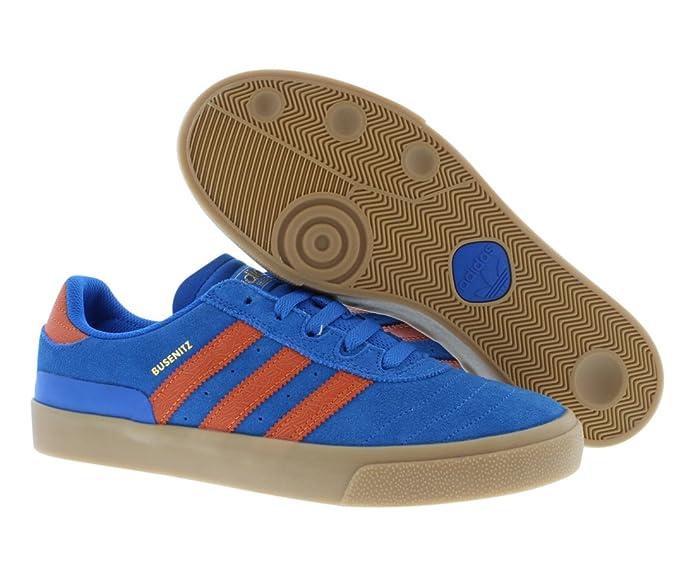ae1458e8d084f3 8bd0c Adidas Busenitz Vulc (BluebirdFox OrangeGum) Mens Skate Shoes ...