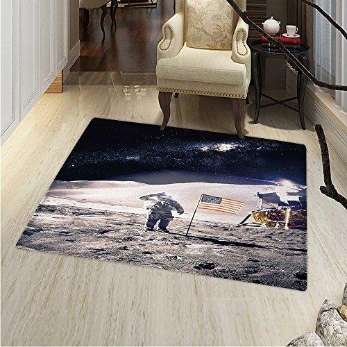 space rug kid carpet astronaut