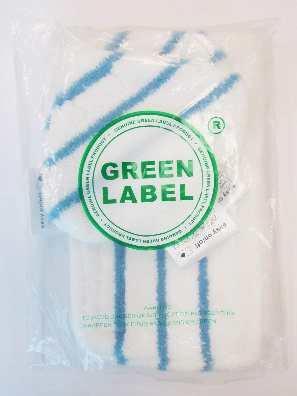 Green Label 6er-Pack Standard und Delta Mikrofaser-Reinigungspads für BLACK+DECKER Dampfbesen (Vergleichbar mit FSMP20, FSMP30). Geeignet für FSM1630