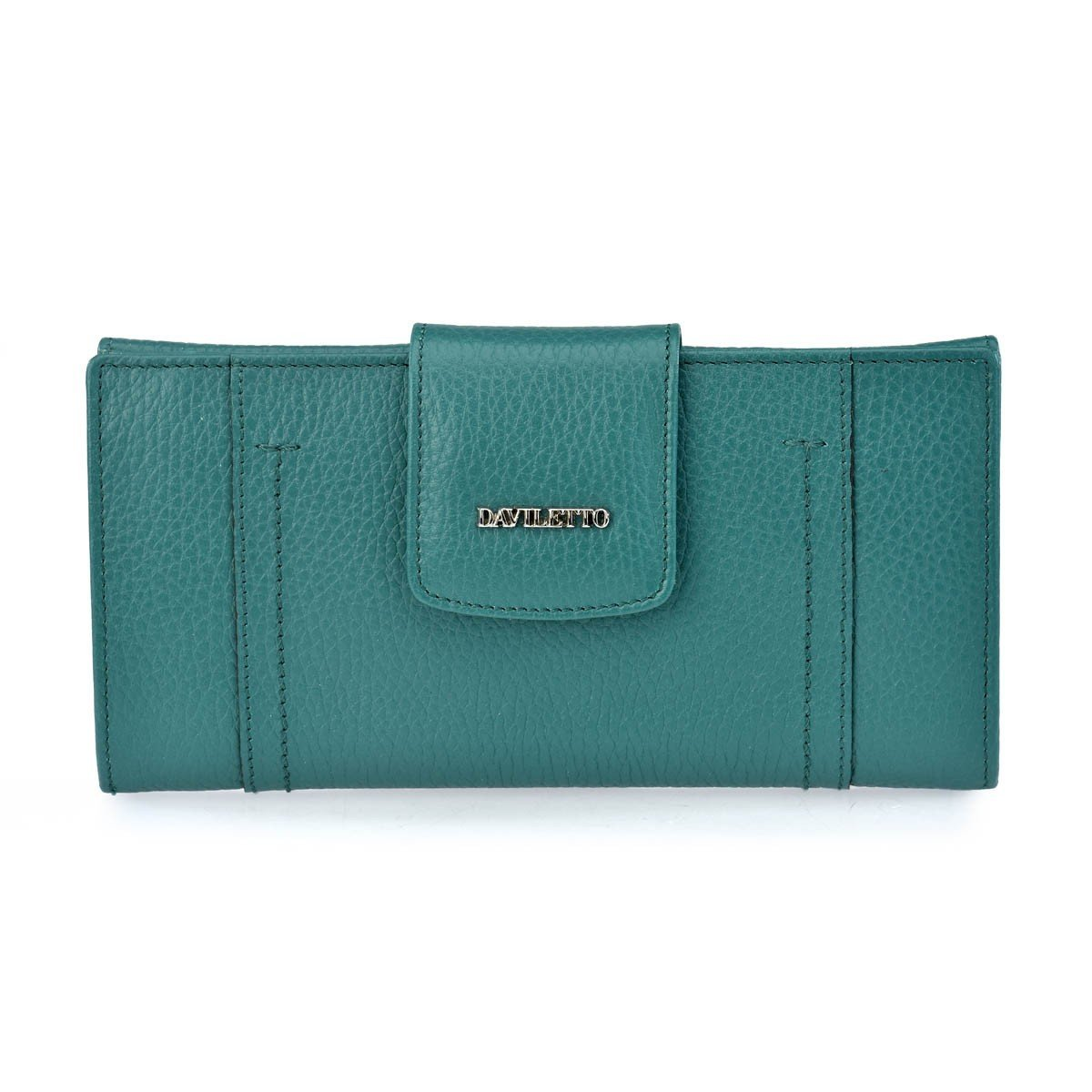 Daviletto Monedero billetero para mujer 4581 (Color: Verde ...