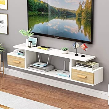Mueble TV de Pared Set Top Box enrutador Reproductor de DVD ...