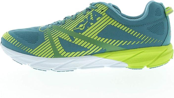 Hoka One One M Tracer 2 Storm 1016786 - Zapatillas de running para hombre, color azul, verde y verde, color Multicolor, talla 48 EU: Amazon.es: Zapatos y complementos
